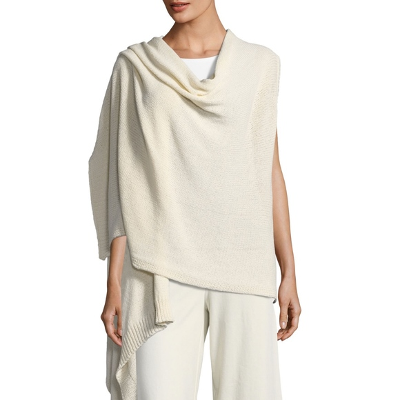Eileen Fisher Jackets & Blazers - Eileen Fisher organic cotton wrap - SZ L/XL - NWT